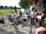 Soundcheck open air