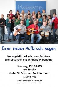Ankündigung KonzertA6