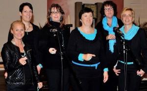 Alt 2: Irmi Meixner, Judith Lohr, Marion Weigelt, Manuela Beiner, Ulrika Häusler, Regina Klotz,